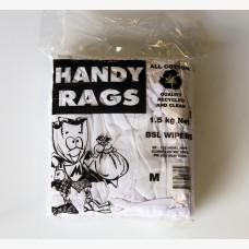 1KG Bag of White Cloth Rags