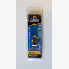 Alpha Insert Bit Phillps Head No. 1 x 25mm