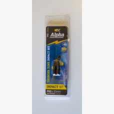 Alpha Insert Bit Phillips Head 3mm x 25mm Two-pack