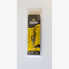 Drill 1/8 Double Ended No. 30 Gold Series Alpha