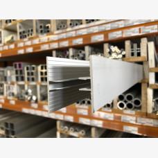 Multiwall H Bar Glazing Channel Top - Anodised