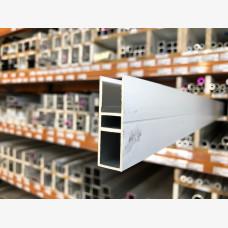 Multiwall Edge Bar Clear Anodised 6Mtrs