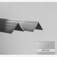 Angle 32mm x 32mm x 1.6mm x 6.5mtr Apo Grey
