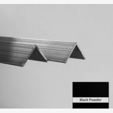 Angle 125mm x 50mm x 3mm x 6.5m Black