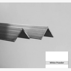 Angle 32mm x 20mm x 1.6mm x 6.5mtr White
