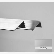 Angle 25mm x 20mm x 1.6mm x 6.5mtr Apo Grey