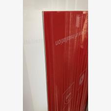 Signboard - Light Red 1220mm X 2440mm Sheet