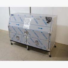 Plain Front Opening Tool Box 1400 x 850 x 550mm   - HALF DOOR