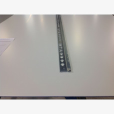 12mm Tile Angle Square Edge 3mtr Matt Silver