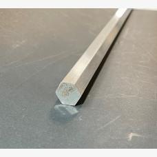 Hex Bar 12mm Diameter X 3658mm - 6061 Grade