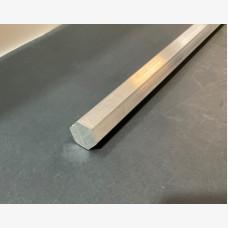 Hex Bar 19.5mm Diameter X 3568mm - 6061 Grade