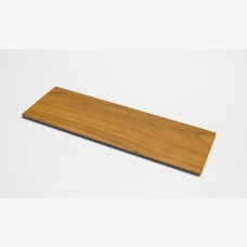Knotwood End Cap 150mm x 50mm Routered Light Oak