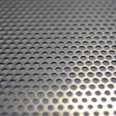Perforated Mesh 4.76mm Diameter Holes / Open Area = 51% / 2400mm x 1200mm x 1.6mm Thick