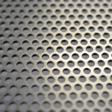 Perforated Mesh Cut Sheet 4.76mm Diameter Holes / Open Area = 51% / 600mm x 1200mm x 3mm Thick