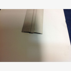 Floor Cover Strip 50mm x 12mm Clear Anodised