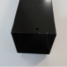 Square Hollow Section (SHS) 90 x 2 x 6.5m Radius Black